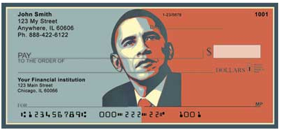 President Obama Checks