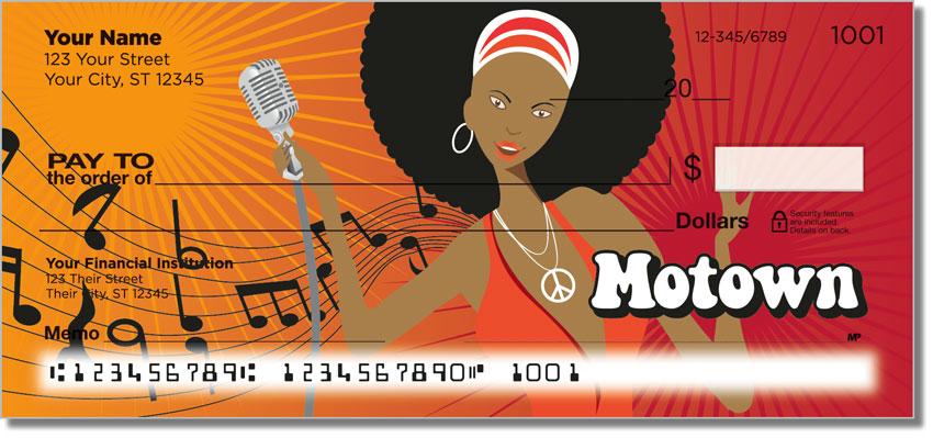 motown personal checks